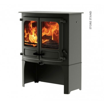 Charnwood Island 3B Boiller Stove with store stand