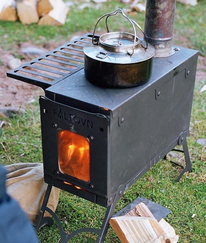 Harrie Leenders Faltovn Outdoor Wood Stove   Wood Camping ...