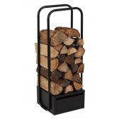 Dixneuf Click Wood Storage in Black