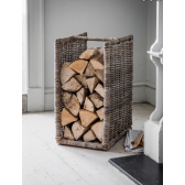 Kubu Rattan Bembridge Log Holder