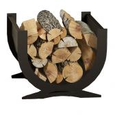 Curved Log Basket