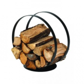 Dixneuf Ring Log Holder in Black