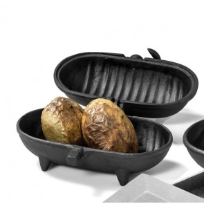 Cast Iron Potato Cooker Standard