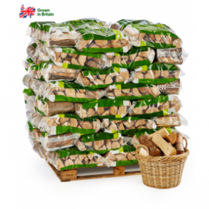Certainly Wood 70 Bag Pallet