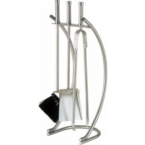 Stainless Steel Curved Companion Set