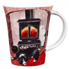 Alex Clark Beside the Fire Mug