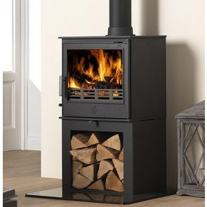 ACR Buxton Stove on Log store