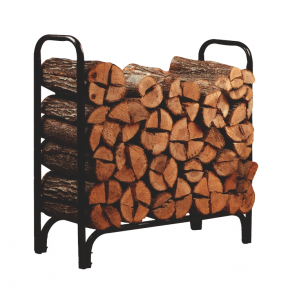 Metal Framed 4' Log Rack  - 23109