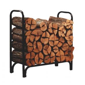 Metal Framed 4' Log Rack  - 23109