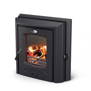 Stanley Cara Plus Inset boiler stove in Matt black