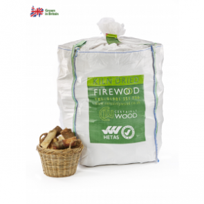 Certainly Wood Kiln Dried Logs - 1.6m Large Bulk Bag