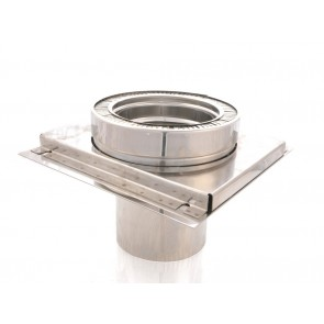 """Poujoulat Chimney Closure Plate - 5""""/130mm"""