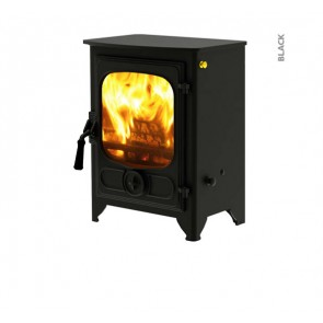 Charnwood Country 4 Stove Black