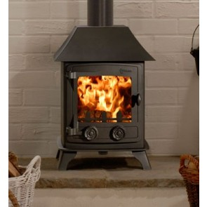Yeoman Exmoor Stove with canopy