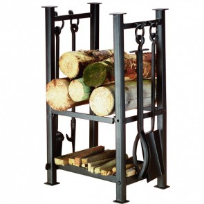 Felton Log Rack & Fire Tools