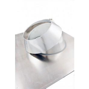 Poujoulat 30-45 Degree Aluminium Flashing