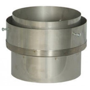 Standard Stove Pipe to Flexible Liner Adaptor