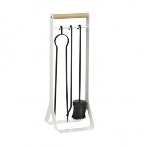 Dixneuf Garden Fire Tool Set in White