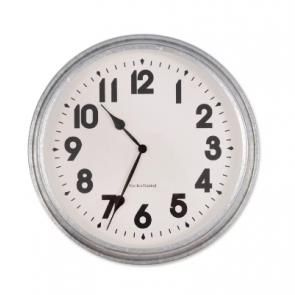 Garden Trading Indoor / Outdoor Galvanised Wall Clock