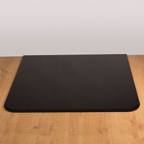 Morso Square Black Glass Hearth