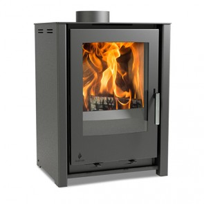 Aarrow I400 Freestanding Low Stove Grey