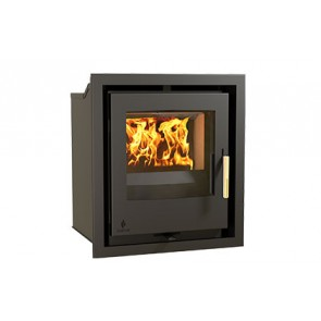i400S inset stove with 30mm trim