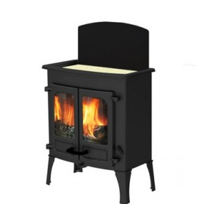 Charnwood Island two cook top with low legs