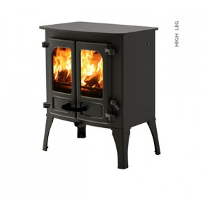 Charnwood Island 1 Stove with high legs