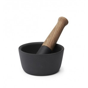 Morso Kit Cast Iron & Wood Morat & Pestle