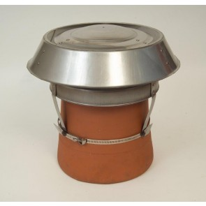 Mad Senior Stainless Steel Cowl with Strap Fix