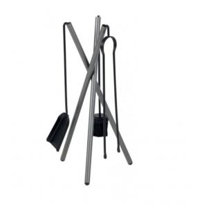 Dixneuf Mikado Fire Tool Set in Grey