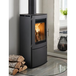 Westfire Uniq 18 Stove with Log Door