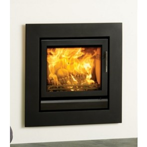 Stovax Riva 50 Jet Black Metallic fireplace