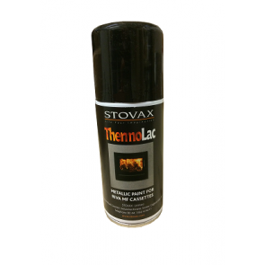 Stovax Riva Black Spray Paint 150ml