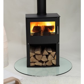 Westfire Series Two Stove on Wood Store