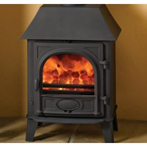 Stovax Stockton 5 wood burning Stove with Low Canopy