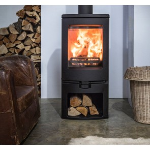 Charnwood Arc 7 Stove on store stand