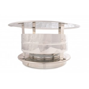 Poujoulat Stainless Steel Vented Cap