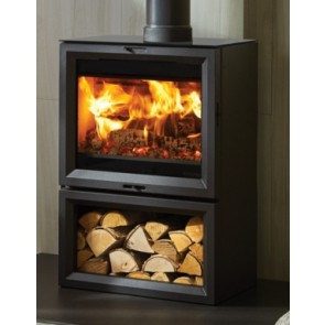 Stovax View 8 Midline Wood burning Stove