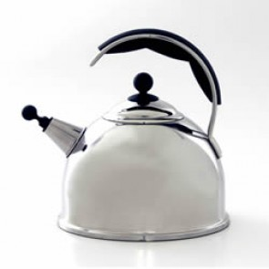 AGA - W2147 Polished Stainless Steel Whistling Kettle