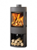 Dovre Astroline 3CB Woodburning with Woodstore