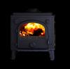 Morso 1630 Dove Stove - drilled for boiler