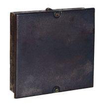 Cast Iron 9 x 9 Double Seal Soot Box