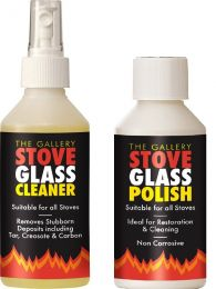 Stove Glass Cleaner and Polish