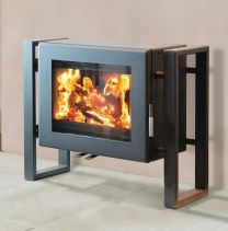 Ekol Adept Steel Side Frame Woodburner