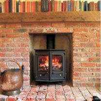 Charnwood Country 6 Stove Black