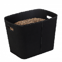 Dixneuf Black Felt Log Holder