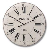 Metal Paris Clock
