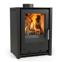 Aarrow I400 Freestanding Low Stove Black