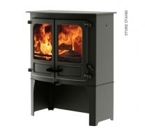 Charnwood Island 3 stove with store stand